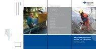 Neue Technische Regeln zu Lärm und Vibrationen - Unfallkasse NRW