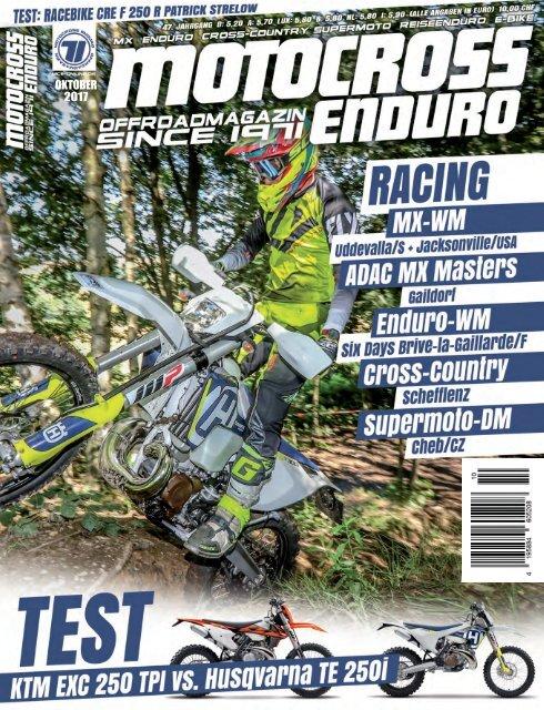 Motocross Enduro Ausgabe 10/2017