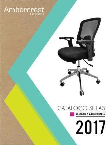 Ambercrest Catalogo Sillas 2017_2