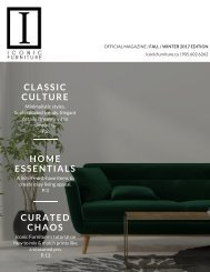 Iconic Furniture Official Magazine