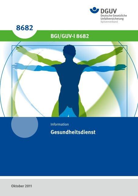 Gesundheitsdienst BGI/GUV-I 8682