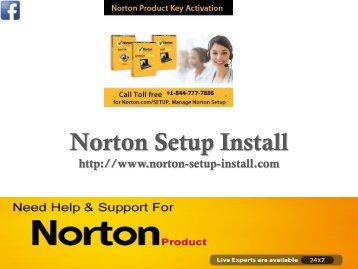 Norton Setup Key  1-844-777-7886 | Norton Setup install