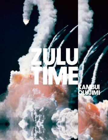 Kambui Olujimi: Zulu Time exhibition catalog
