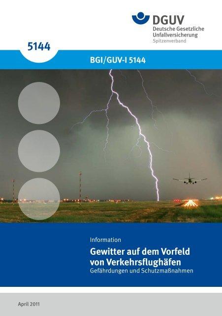 Gewitter auf dem  Vorfeld von Verkehrsflughäfen - Deutsche ...