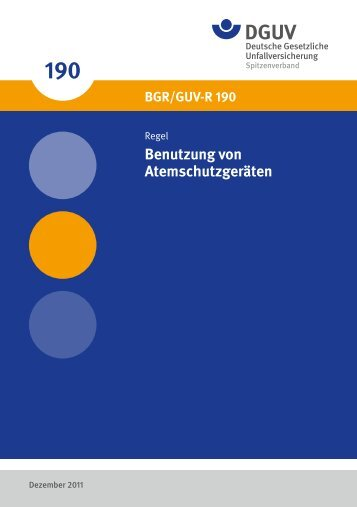 Benutzung von Atemschutzgeräten - Deutsche Gesetzliche ...