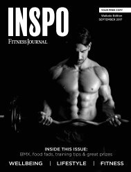 INSPO Fitness Journal September 2017