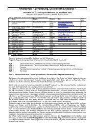 Protokoll vom 10.11.2004 - Bad Endorf