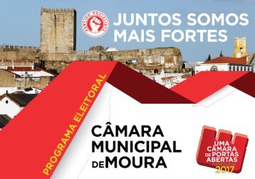 PS Autárquicas 2017 - Programa Câmara Municipal de Moura