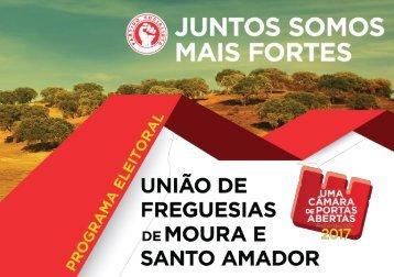 PS Autárquicas 2017 - Programa União de Freguesias de Moura e Santo Amador