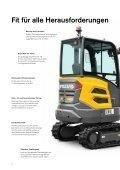 Volvo Minibagger EC27C - Datenblatt / Produktbeschreibung - Page 6