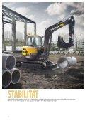 Volvo Minibagger ECR58D - Datenblatt / Produktbeschreibung - Page 4