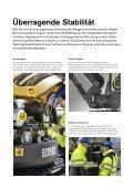 Volvo Minibagger ECR58D - Datenblatt / Produktbeschreibung - Page 5