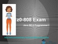 Get Oracle 1Z0-808 Real Exam Dumps - Oracle 1Z0-808 Braindumps RealExamDumps