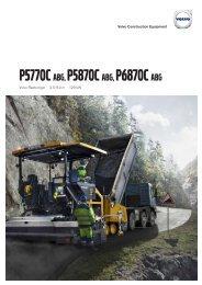 Volvo Radfertiger P5770C-P5870C-P6870C - Datenblatt / Produktbeschreibung