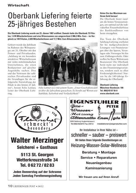 2012-4 Lieferinger Post - Stadt Salzburg