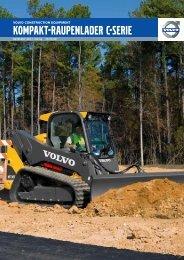 Volvo Kompaktlader MCT85C-MCT125C-MCT145C - Datenblatt / Produktbeschreibung