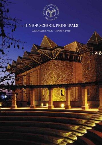 Candidate Pack - AKA Junior School Principals