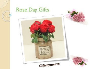 Buy Online Rose Day Gifts