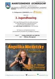 Postwurf August 3 / Marktgemeinde Leobersdorf