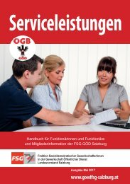 Servicebroschüre FSG Szbg_Ausgabe Mai 2017