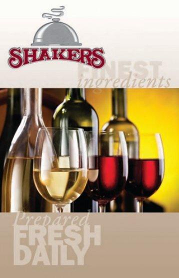 Shakers-menu