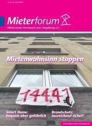 Mieterforum Dortmund - Ausgabe III/2017 (Nr. 49)