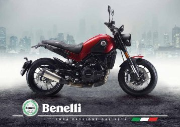 Benelli 2018 deutschsprachig