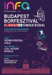 Budapest Borfesztivál InfoPont különszám