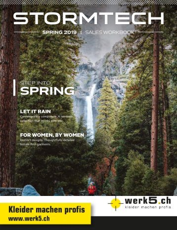 werk5 Stormtech 2018 Katalog