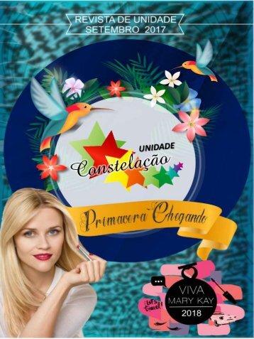 REVISTA DA UNIDADE CONSTELAÇÃO -  SETEMBRO 2017