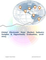 Global Electronic Nose Market (2016-2024)- Research Nester