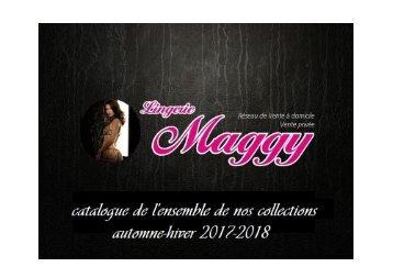 CATALOGUE lingerie Maggy Automne-Hiver 2017-2018