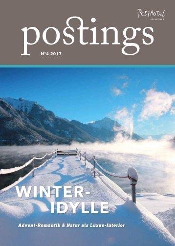 Posthotel - postings No 4 2017