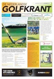 De Nederlandse Golfkrant september 2017
