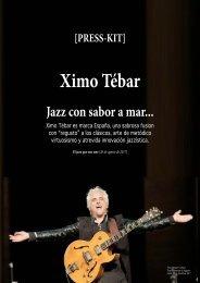 Press-Kit Ximo Tebar