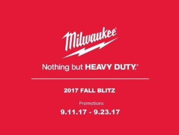 2017 Fall Blitz Promo!