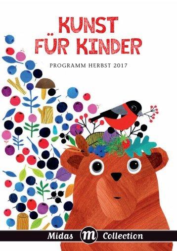 Programm Midas Kinderbuch Herbst 2017