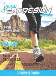 Expresión Joven Septiembre 2016 - El Universo en tu Cuerpo