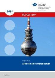 BGI/GUV-I 8691 - Deutsche Gesetzliche Unfallversicherung