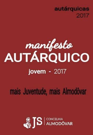 Manifesto Autárquico 2017 - JS Almodôvar