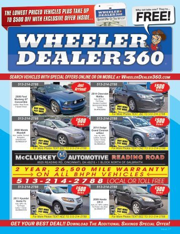 Wheeler Dealer 360 Issue 37, 2017