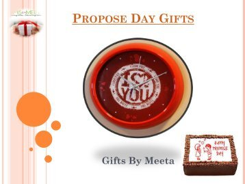 Online Propose Day Gifts