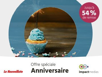 OFFRE Anniversaire mailing