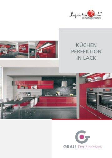 "Flyer ""Küchenperfektion in Lack"""