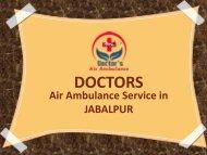 Air Ambulance Service in Jabalpur
