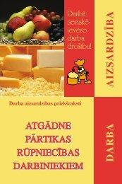 Atgādne pārtikas rūpniecības darbiniekiem - Eiropas darba drošības ...