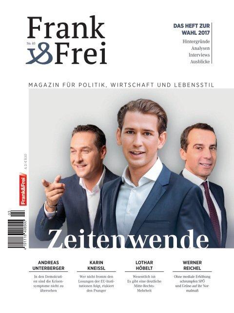 Leseprobe Magazin Frank&Frei 03/2017