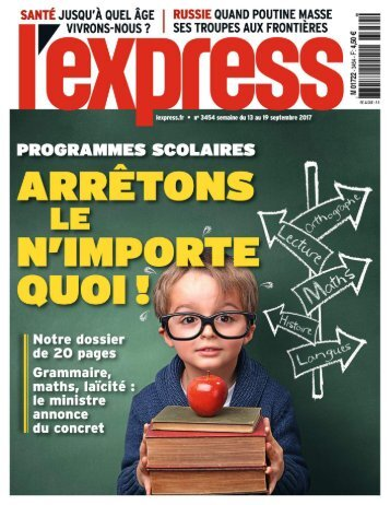 L'Express 09/2017