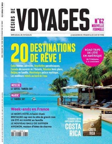 Désirs de Voyages 62