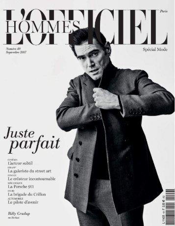 L'Officiel Hommes Paris